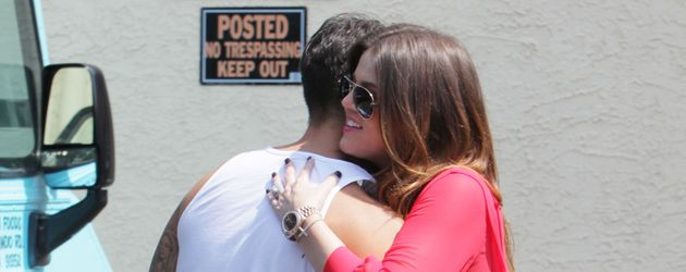 Khloe Kardashian und Robert Kardashian