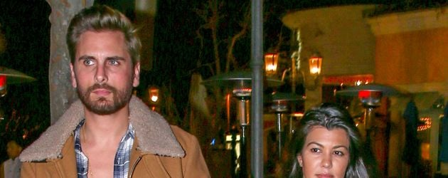 Kourtney Kardashian und Scott Disick