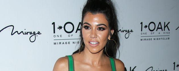 Kourtney Kardashian auf dem Red Carpet
