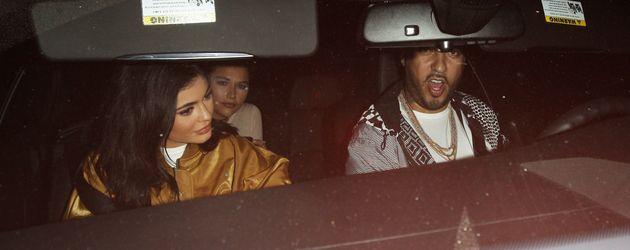 Kylie Jenner und French Montana sitzen im selben Auto