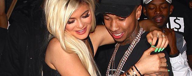 Kylie Jenner und Tyga auf einer Party