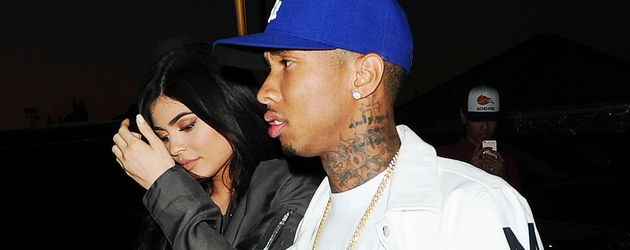 Kylie Jenner & Tyga in Los Angeles