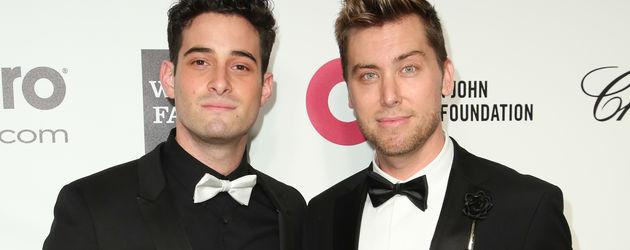 Lance Bass und Michael Turchin