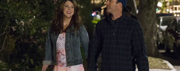 "Lauren Graham und Scott Patterson in der neuen Staffel ""Gilmore Girls"""
