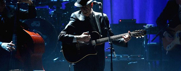 Leonard Cohen im Beacon Theatre in New York, 2009