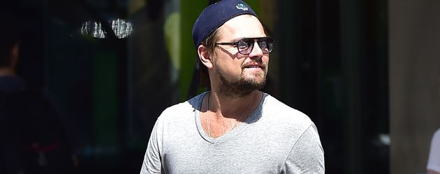 Leonardo DiCaprio in New York