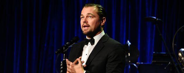 Leonardo DiCaprio auf einer Tribute-Gala in New York