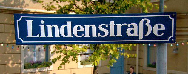 """""""Lindenstraße""""-Schild"""