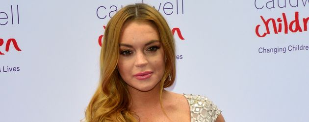 Lindsay Lohan beim Caudwell Children's Butterfly Ball in London