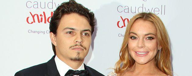 Geschäftsmann Egor Tarabasov und Sängerin Lindsay Lohan
