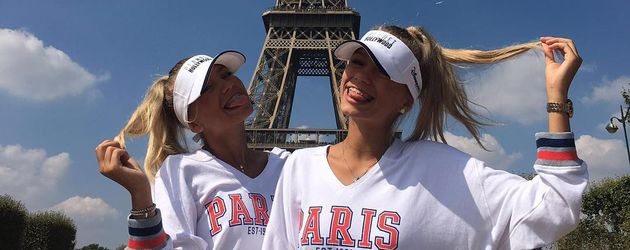 Lisa und Lena in Paris