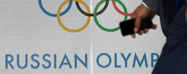 Russisches Olympisches Komitee in Moskau