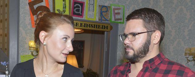 Thomas Drechsel und Luise Schubert