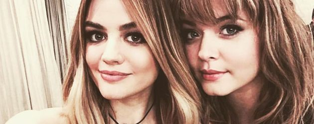 "Lucy Hale und Sasha Pieterse, Ex-""Pretty Little Liars""-Kolleginnen"