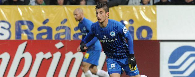 Lukas Vacha, Fußball-Star aus Tschechien