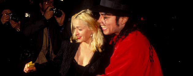 Madonna und Michael Jackson 1991