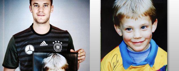 Manuel Neuer, heute und früher