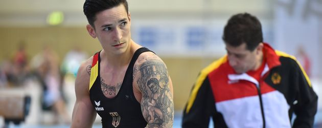 Marcel Nguyen im April 2016