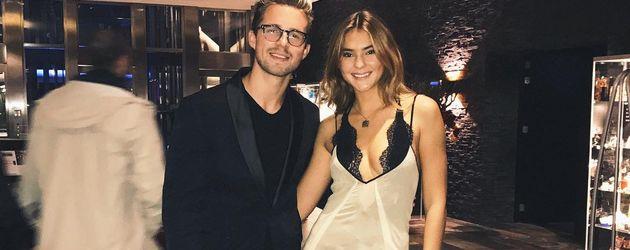"""Marcus Butler und Stefanie Giesinger bei den """"MTV Europe Music Awards"""" in Rotterdam"""