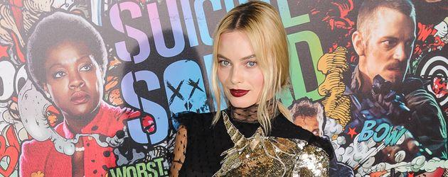 """Schauspielerin Margot Robbie bei der Weltpremiere von """"Suicide Squad"""" in New York"""