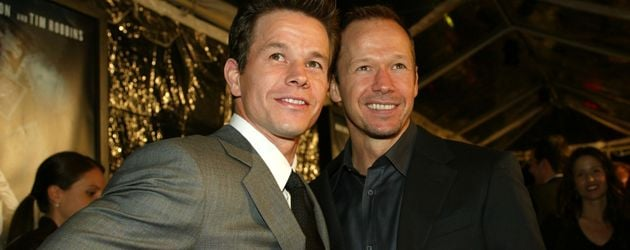 "Mark Wahlberg & Donnie Wahlberg auf der ""The Truth About Charlie""-Premiere"