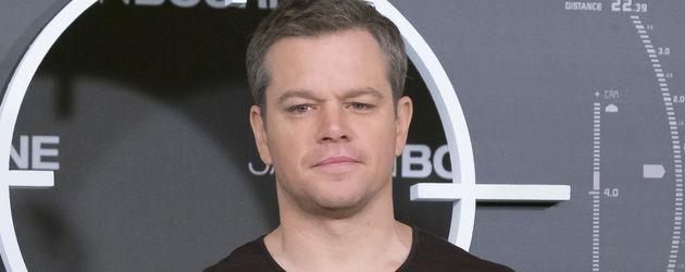 "Matt Damon beim Photocall zu ""Jason Bourne"""