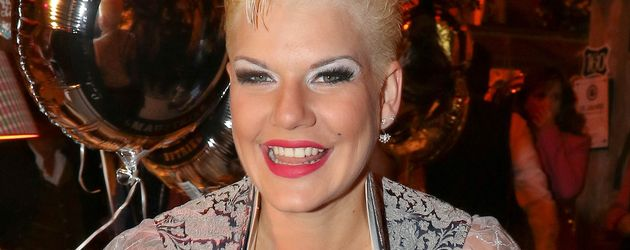 Melanie Müller beim Oktoberfest 2016 in der Käferschänke
