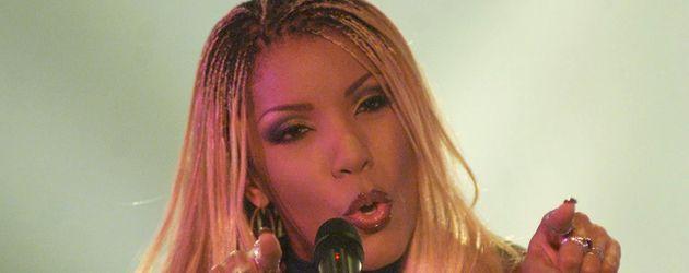 """Melanie Thornton zu Gast in der RTL-Show """"Millionär gesucht"""" im September 2001"""