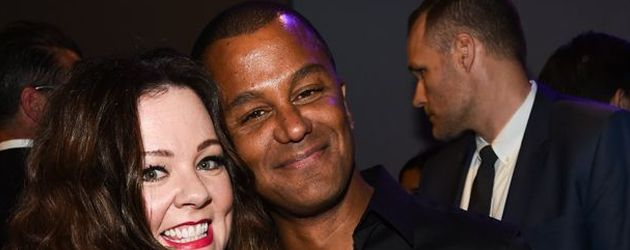 "Melissa McCarthy und Yanic Truesdale bei der ""The Boss""-Premiere in Los Angeles"