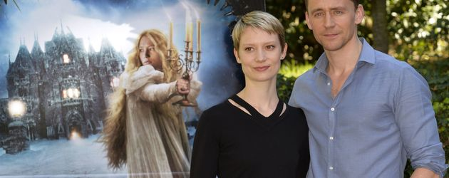 Tom Hiddleston und Mia Wasikowska