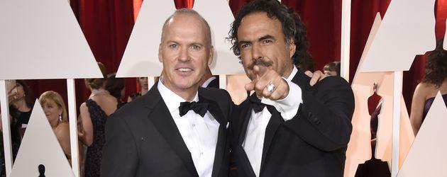Alejandro Inarritu und Michael Keaton