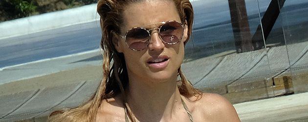 Michelle Hunziker im Urlaub