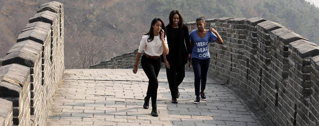 Michelle Obama und Malia Obama