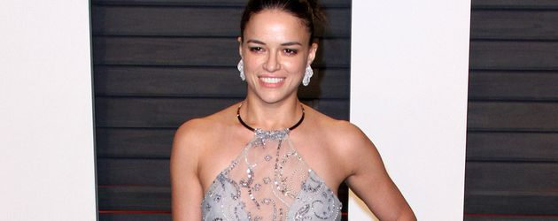 "Michelle Rodriguez bei der ""Vanity Fair Oscar Party"" 2016"