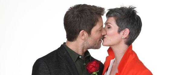 Mickey Hardt und Cheryl Shepard