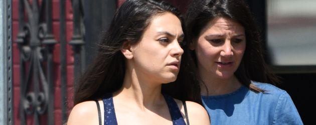 Mila Kunis während ihrer zweiten Schwangerschaft in Los Angeles