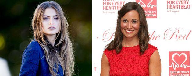 Pippa Middleton und Milana Gräfin von Abensperg