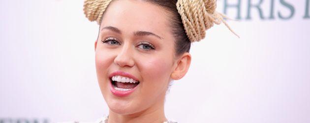 Miley Cyrus bei einem Netflix-Event