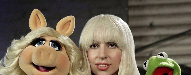 Lady GaGa und Miss Piggy