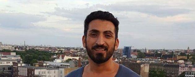 Mustafa Alin posiert für ein Foto