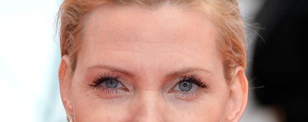 Nadja Auermann bei den Filmfestspielen in Cannes