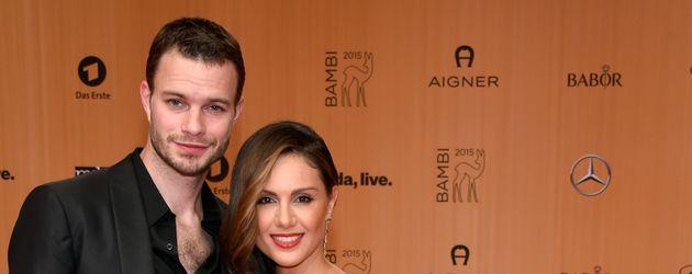 Nazan Eckes mit ihrem Ehemann Julian Khol bei der Bambi-Verleihung 2015