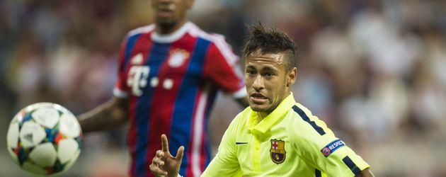 Jérôme Boateng und Neymar Jr.
