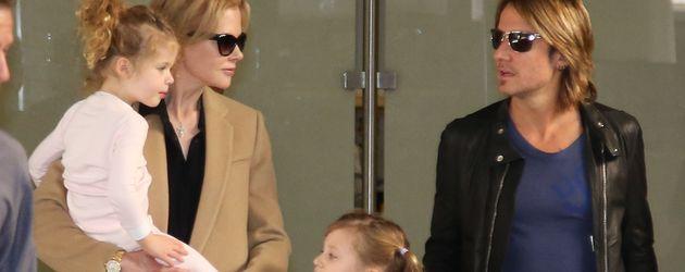 Nicole Kidman, Keith Urban und die gemeinsamen Töchter