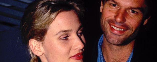 Nicollette Sheridan und Harry Hamlin 1991