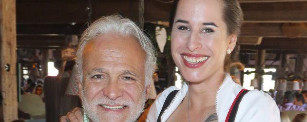 Nino de Angelo mit Lebensgefährtin Larissa Schmitt