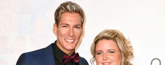 Norman Langen und seine Freundin Verena De-Haan