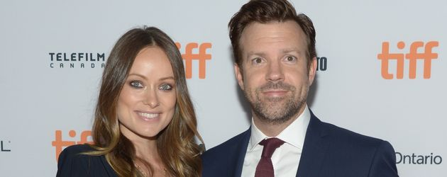 """Schauspielerpaar Olivia Wilde & Jason Sudeikis beim """"Toronto International Film Festival"""" in Kanada"""