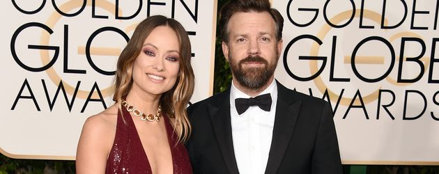 Olivia Wilde und Jason Sudeikis bei den Golden Globe-Awards in Los Angeles