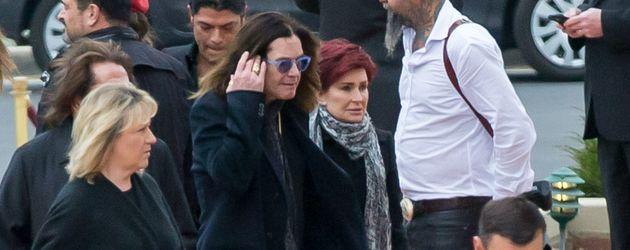 Sharon Osbourne, Ozzy Osbourne und Lemmy Kilmister